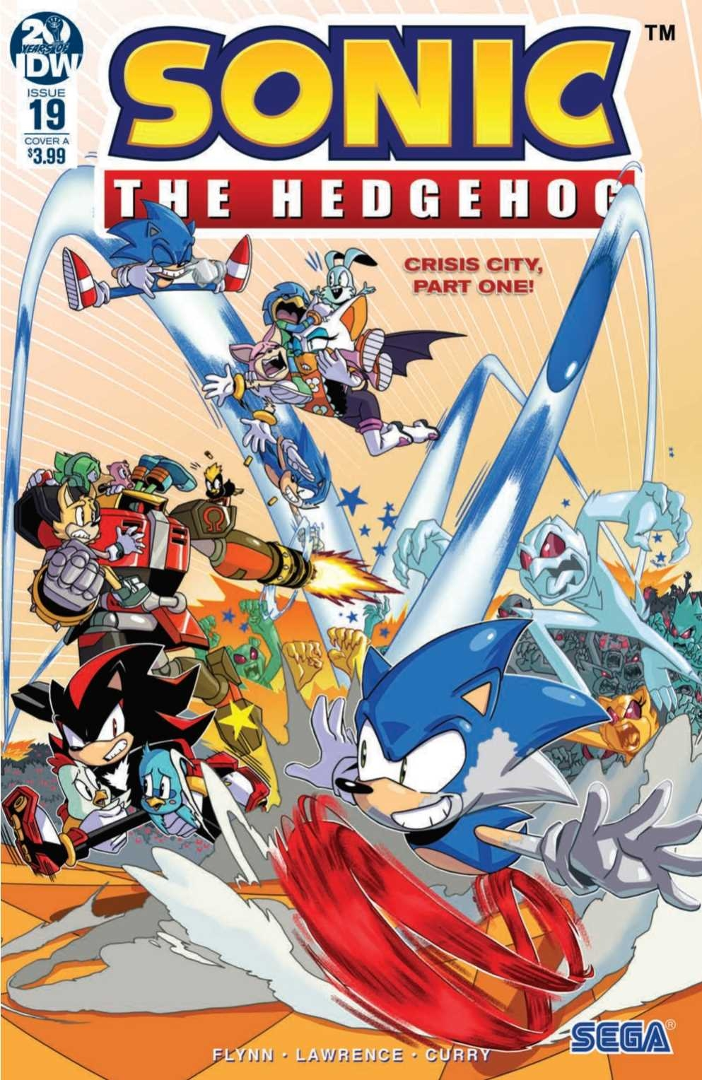 Comic Preview Idw Sonic The Hedgehog 19 The Sonic Stadium