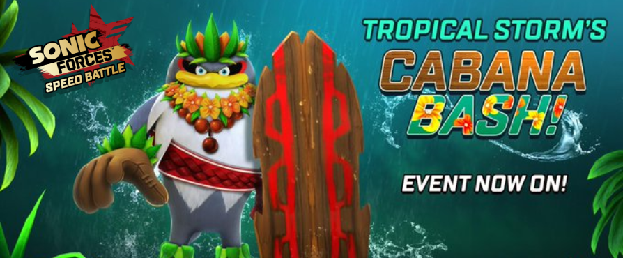 Storm Gets Tropical In This Gnarly Speed Battle Event!