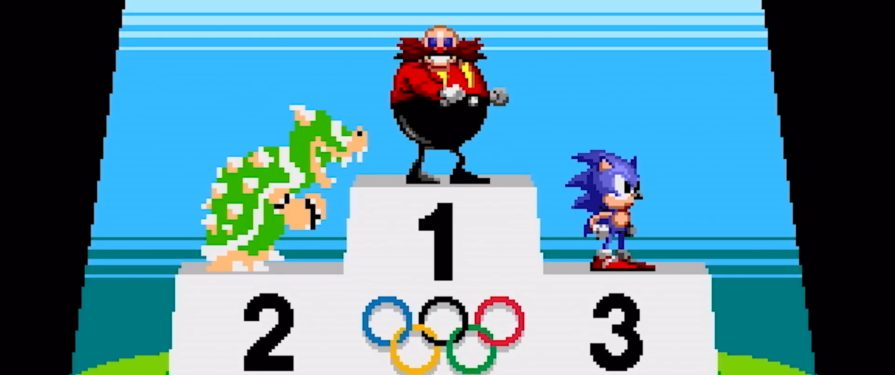 Mario and Sonic Go Old School in New Retro Olympic Events