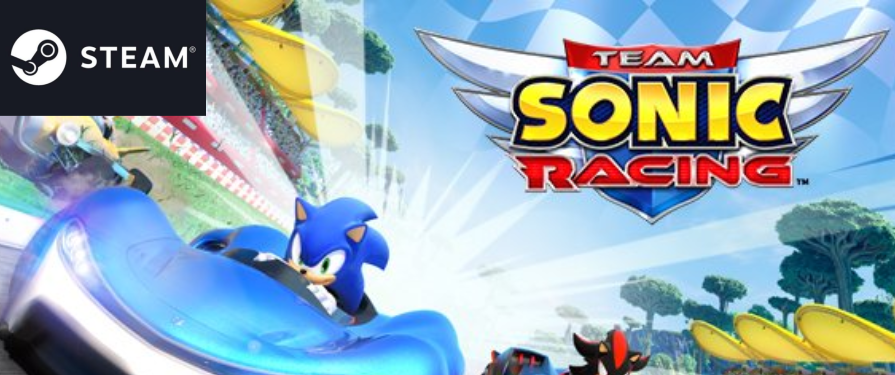 Hurry and Grab Team Sonic Racing on Steam for 37% Off!