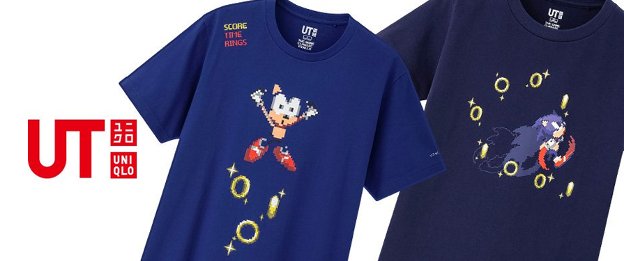 UNIQLO Brings Back SEGA Love With Sonic and Puyo Puyo Shirts