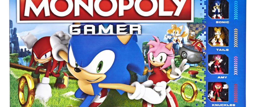 Brand New Sonic Themed Monopoly Game Releasing in September
