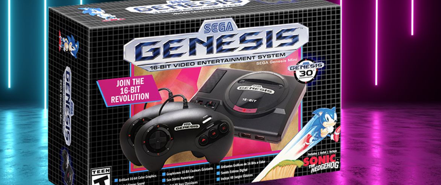 """The Genesis is Back!"" SEGA Genesis Mini Launches with a Sizzlin' Trailer"