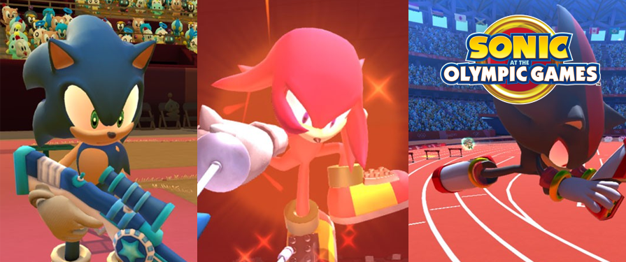 New Sonic at the Olympic Games Screenshots Revealed by Famitsu