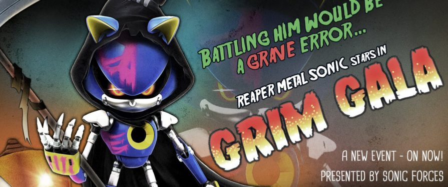 Sonic Forces 'Grim Gala' Begins, Reaper Metal Sonic Up For Grabs