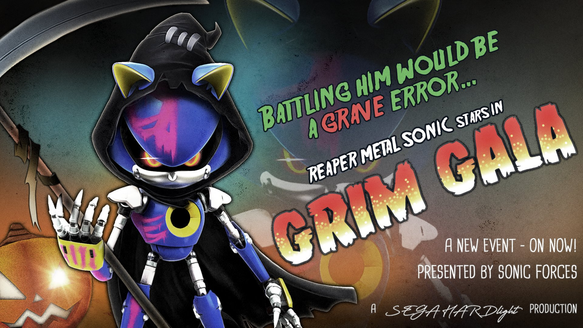Sonic Forces Grim Gala Begins Reaper Metal Sonic Up For Grabs