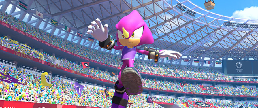 Espio Joins the Mario & Sonic Olympic 2020 Games – New Screenshots