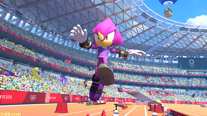 Triple A Games 2020.Espio Joins The Mario Sonic Olympic 2020 Games New
