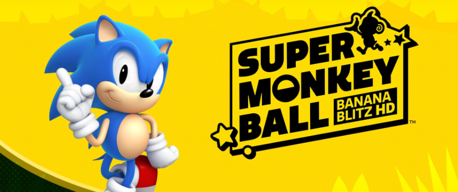 Sonic officially announced for Super Monkey Ball: Banana Blitz HD