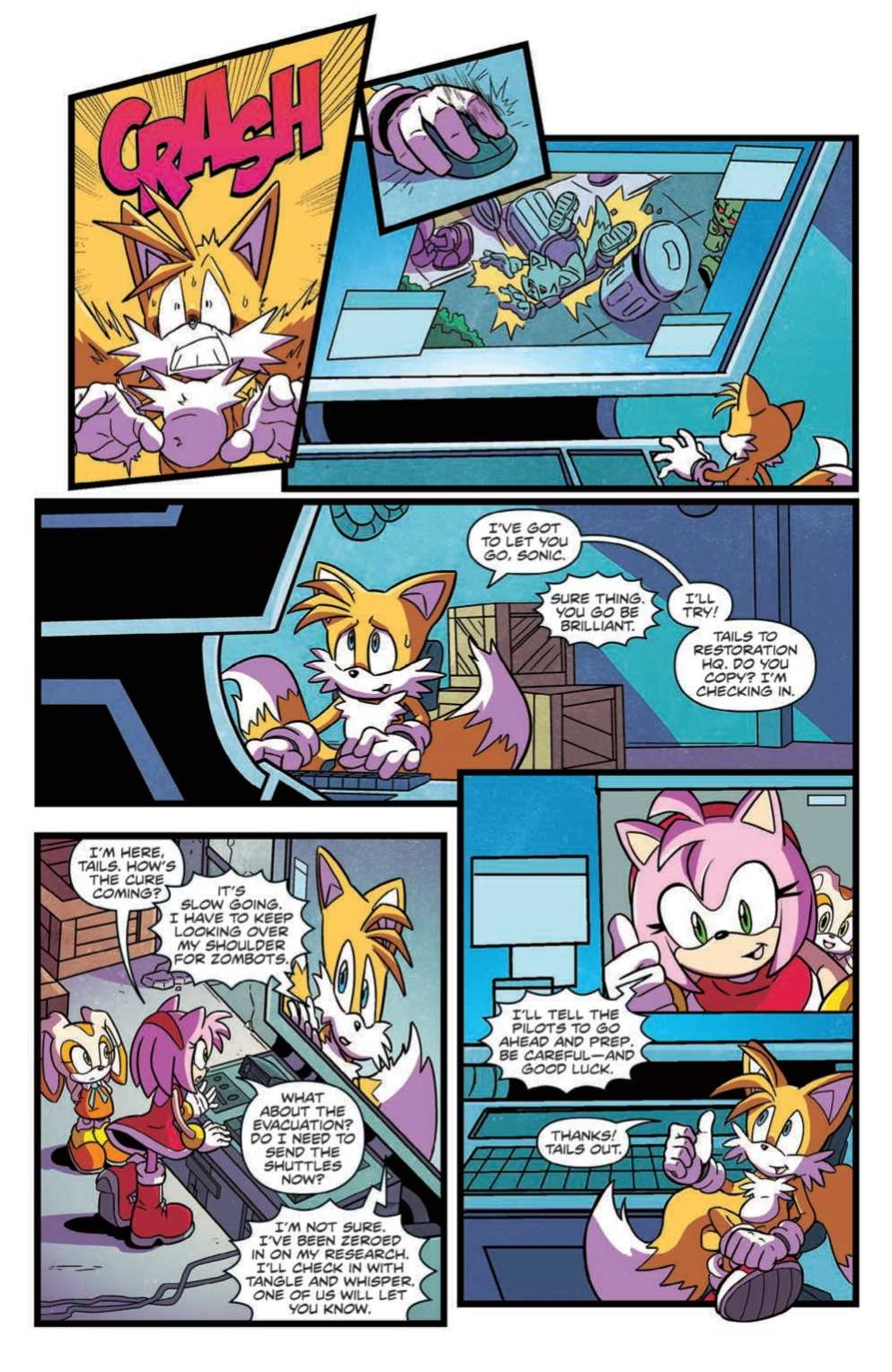 Comic Preview Idw Sonic The Hedgehog 21 The Sonic Stadium