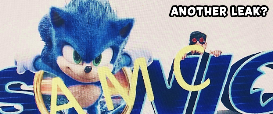Leak: Sonic Movie Standee Promo, Along With Hashtag #CatchSonic