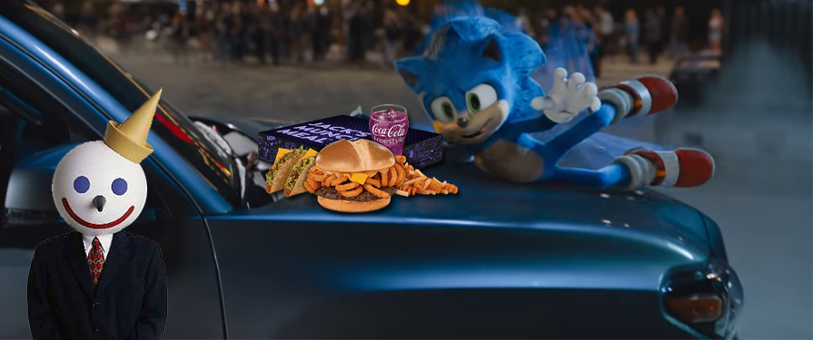 Jack in the Box Partners with SEGA to Promote the Sonic Movie