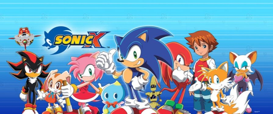 Sonic X is (mostly) on Netflix!