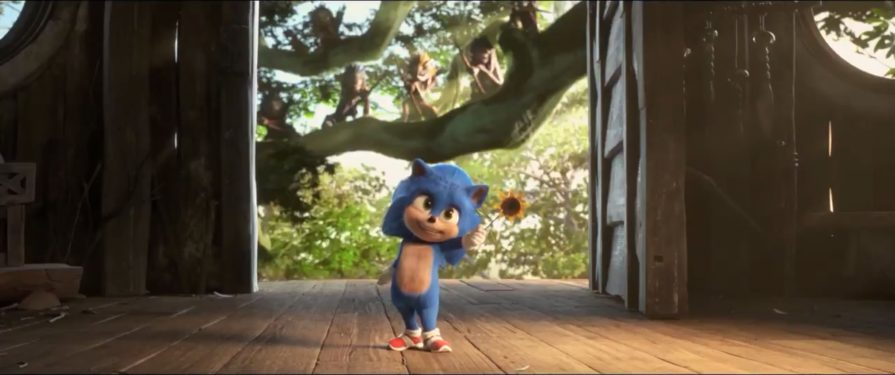 Baby Sonic Cutes It Up in New Sonic Movie Teaser