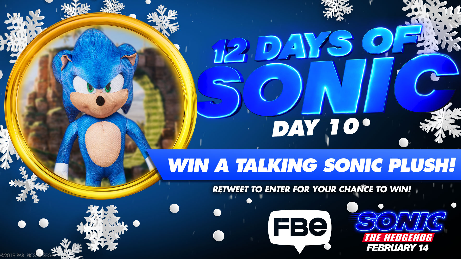 Fbe Giving Away Talking Sonic Plush Toy The Sonic Stadium
