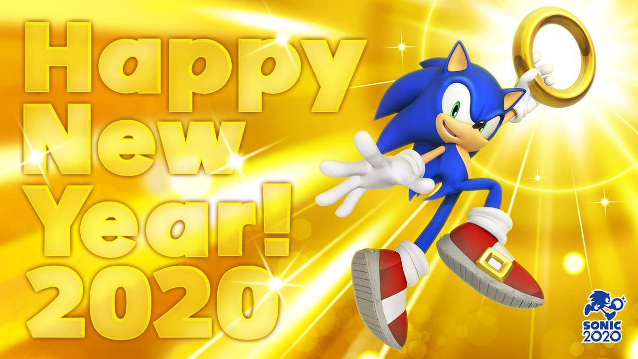 Sonic Team Celebrates New Year With New Sonic2020 Campaign The Sonic Stadium