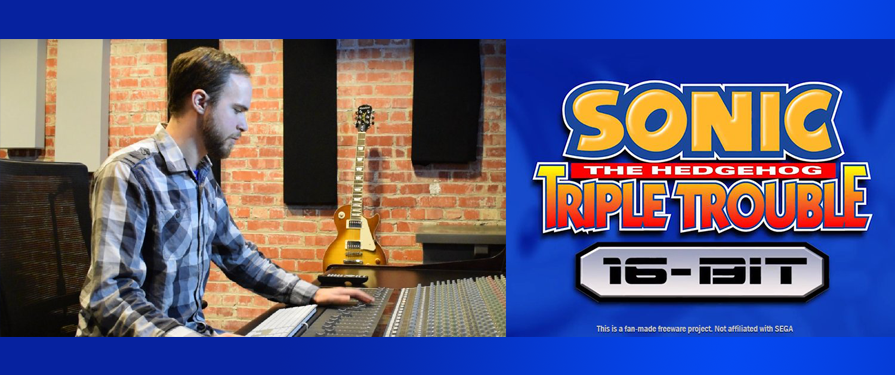 TSS Interview: Sonic Triple Trouble 16-bit's Noah Copeland
