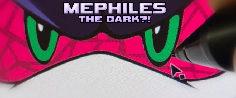 Mephiles Returns… on Finesse Skateboard?