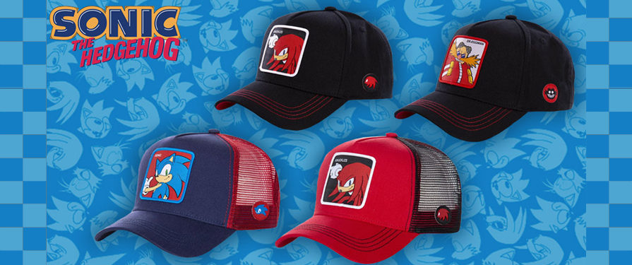 SEGA Europe Selling Nice New Sonic Hats