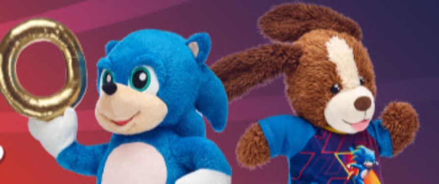 Build Your Own Movie Sonic At Build A Bear Stores The Sonic Stadium