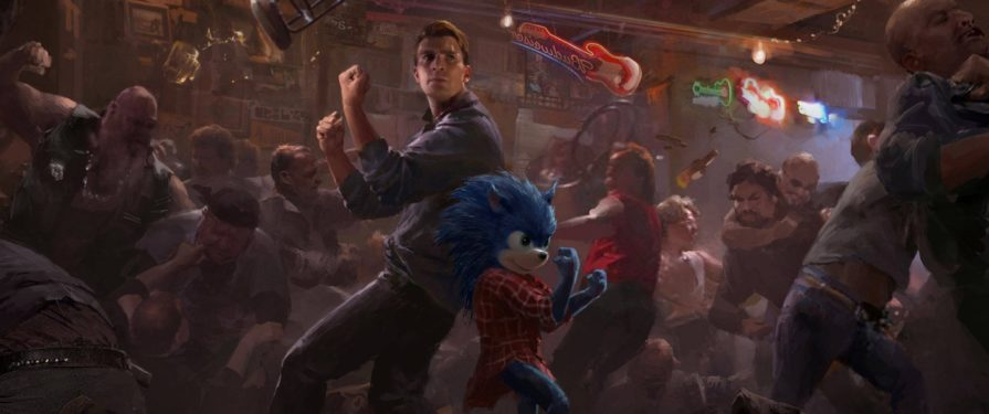 Old Sonic Movie Concept Features Unused Villain, Sonic Fighting With Chris Evans