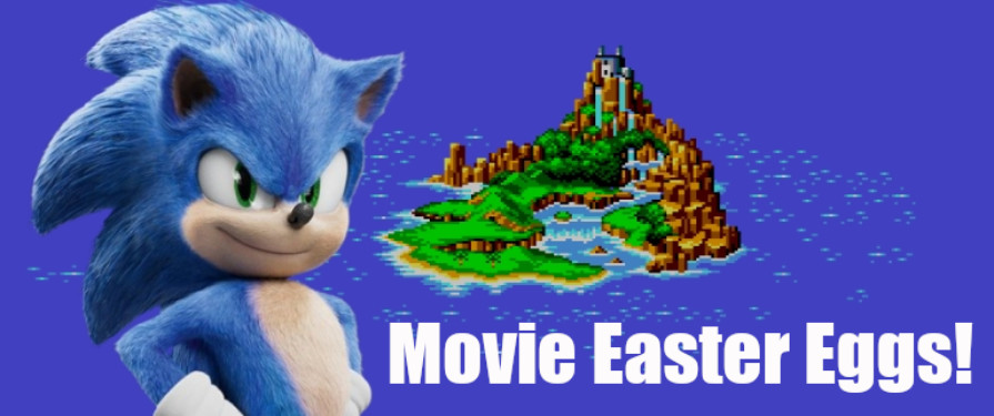 The Sonic the Hedgehog Movie Scene LOADED With Easter Eggs! [Movie Spoiler]