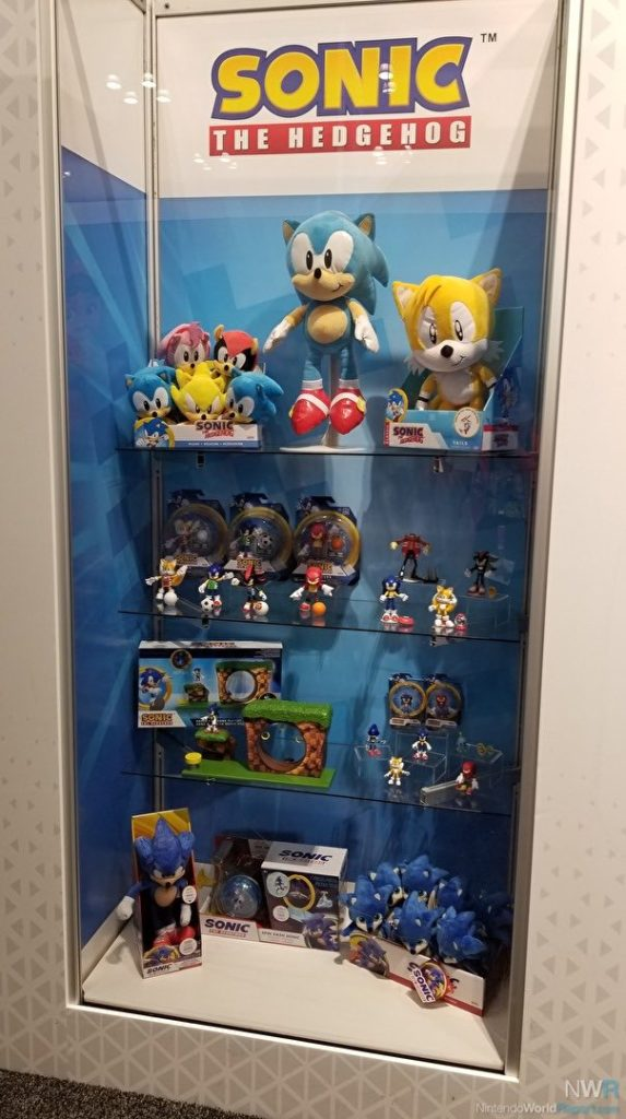 Sonic The Hedgehog Movie Figurine New Jakks Figures On Display At Ny Toy Fair The Sonic Stadium