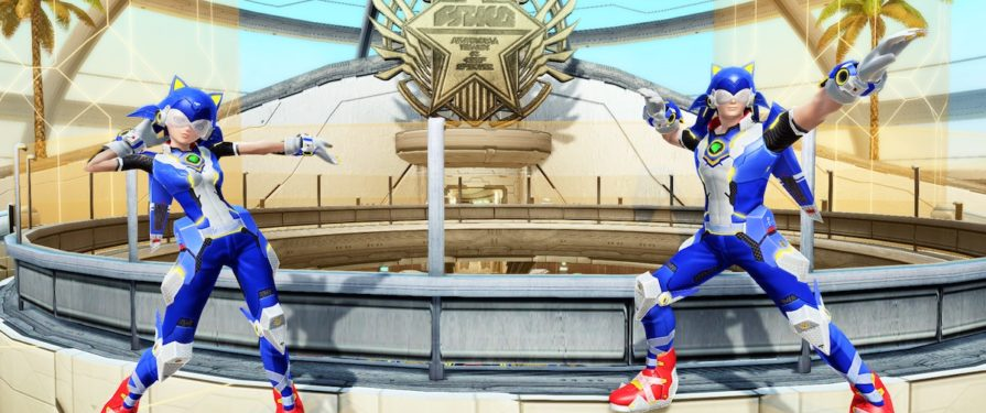PSO2 to Launch With Special Sonic Collaboration Pack