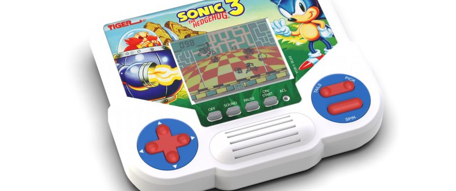 Sonic 3 Returning…as a Tiger LCD Game