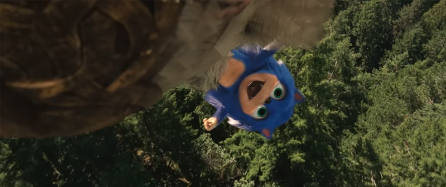 Deleted Scene Featuring Old Design Baby Sonic Toddles onto YouTube