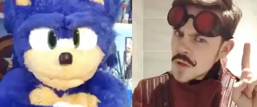This Fan-Made Sonic Movie Costume is So Realistic He's Doing TikTok Duets With Other Cosplayers