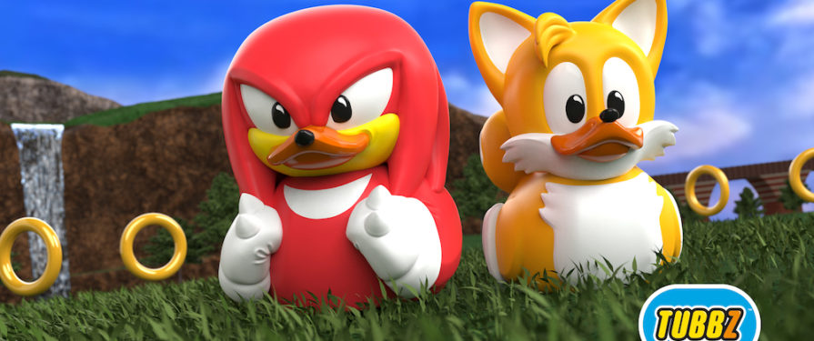 Knock Knock It's DuckTails! Knuckles and Tails Tubbz Toys Revealed