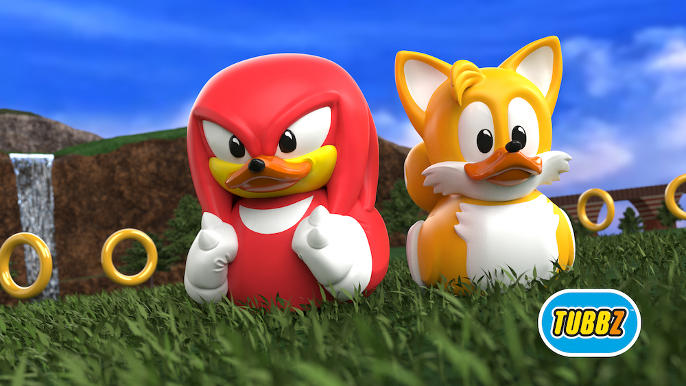 Knock Knock It S Ducktails Knuckles And Tails Tubbz Toys Revealed The Sonic Stadium