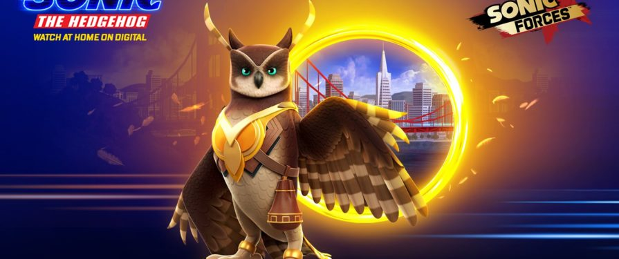 Longclaw Flaps Into Sonic Forces Mobile