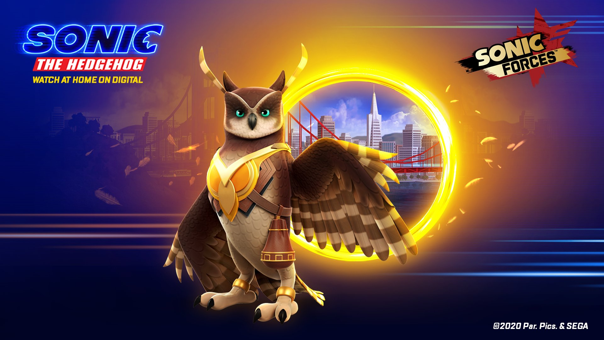 Longclaw Flaps Into Sonic Forces Mobile The Sonic Stadium