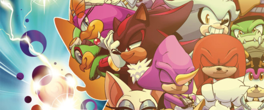 IDW's Sonic #30 Alternative Cover is Amazingly Cheerful and Wholesome