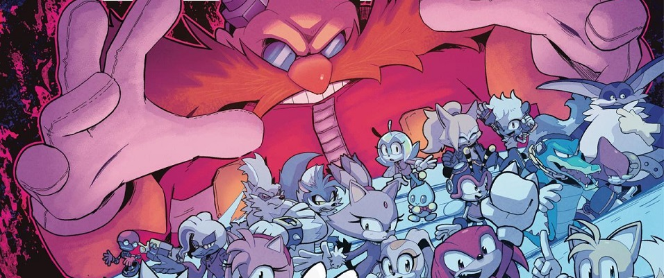 Evan Stanley Takes Over The Sonic Comic While Ian Flynn Pens Bad Guys The Sonic Stadium