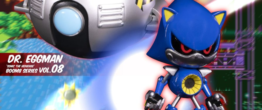 F4F Injects Some Villainy into its Boom8 Classic Sonic Series With New Eggman & Metal Sonic Figures