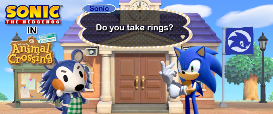 The Best Sonic Themed Animal Crossing Customisations The Sonic Stadium