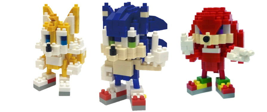 Nanoblocks Lets You Build Your Own Sonic This June