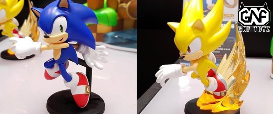 Modern Sonic Gets Some Love From F4F and GNF With Upcoming Figures!
