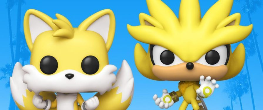 Tails and Silver Go Super and Become Funko's Latest POP! Sonic Figures