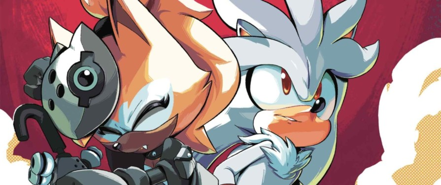 Silver & Whisper Throw Down With Zor in IDW Sonic #28 Preview