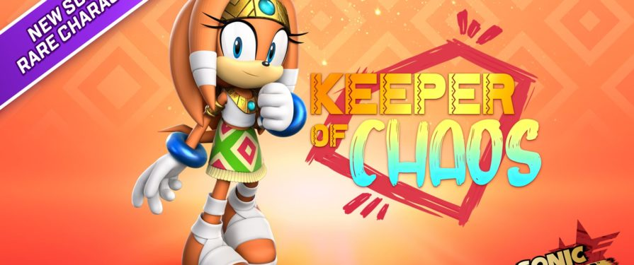 Sonic Forces Mobile Introduces Tikal Today in Keeper of Chaos Event