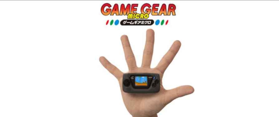SEGA Unveils the Absolutely Adorable Game Gear Micro