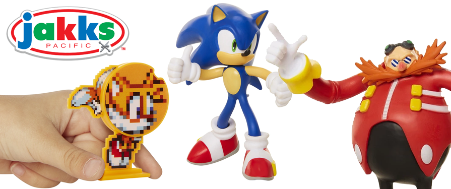 Bendy Sonic Figures by JAKKS Pacific Are Now Available
