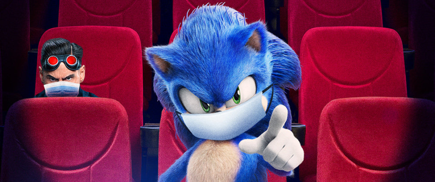 "As Sonic Movie Opens in Chinese Theaters, Sonic Says ""Follow COVID-19 Guidelines"" in New Movie Posters"
