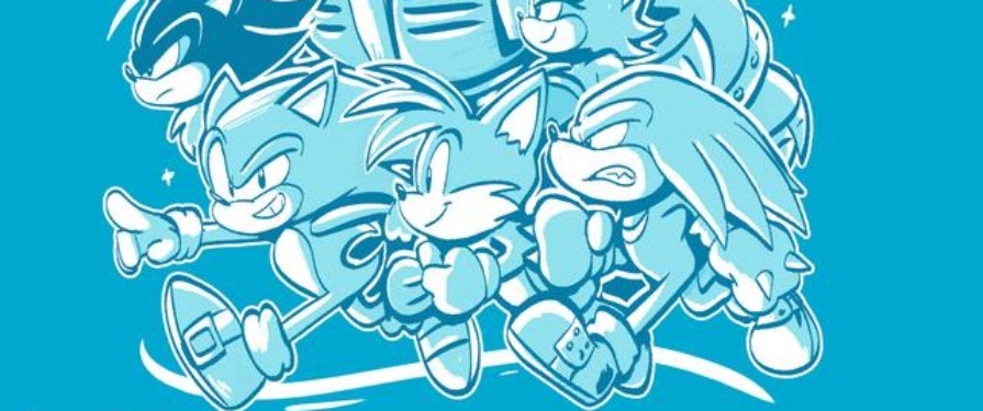 Awesome Sonic Heroes T-Shirt Available to Buy During GDQ 2020 Online Event