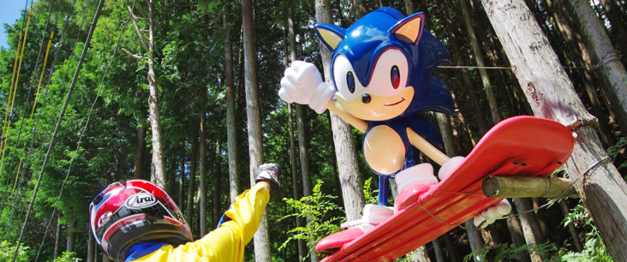 Giant Japanese Sonic Statue Beautifully Restored By Owner's Bereaved Family