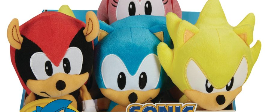 Second Wave of Jakks Pacific Sonic Plushes Trickling into Retailers